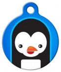 image: Penguin Cutie Pet Name Tag