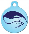 image: Marine Mammal Friends Custom Name Tag for Pets