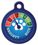 image: Christmas Meter - Needs Improvement! Pet Name Tag