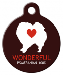 image: Wonderful Pom Pet ID Tag