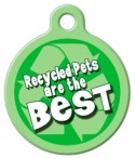 image: Recycled Pet Name Tag