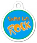 image: Shelter Cats Rock Cat ID Tag
