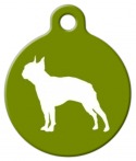 image: Boston Terrier Pet ID Tag