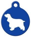 image: Cocker Spaniel Pet Tag