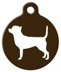 image: Chihuahua Silhouette Tag