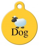 "image: ""Sheep"" Dog Breed ID Tag"