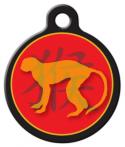 image: Chinese Zodiac - Monkey Pet Name Tag