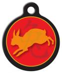 image: Chinese Zodiac - Rabbit Pet ID Tag