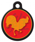 image: Chinese Zodiac - Rooster Pet Name Tag