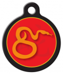 image: Chinese Zodiac - Snake Custom Pet Tag