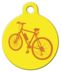 image: Bicycle Custom NameTag for Cats or Dogs