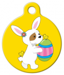 image: Easter Puppy with Egg ID Tag