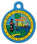 image: Florida State Emblem ID Tag