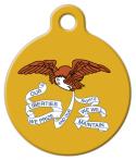 image: Iowa State Emblem Pet ID Tag