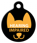 image: Hearing Impaired Dog or Cat ID Tag