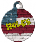 US Rules Pet ID Tag