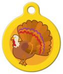 image: Yellow Turkey Cutie ID Tag