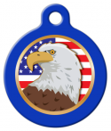 image: American Eagle Pet ID Tag