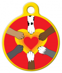 image: Paw Power Dog or Cat ID Tag