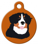 image: Bernese Mountain Dog Pet ID Tag