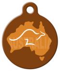 image: Aussie Kangaroo Pet ID Tag