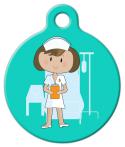 image: Nurse Cutie Pet ID Tag