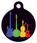 image: Musical Instruments Pet ID Tag