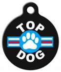 Top Dog Pet Identity Tag