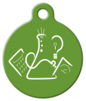 image: Science Fair Logo Pet ID Tag