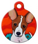 image: Jack Russell Cutie Pet ID Tag