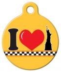 image: NY Love  Pet ID Tag