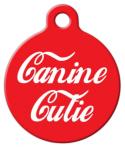 Canine Cutie Pet ID Tag