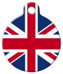 image: British Flag Pet ID Tag
