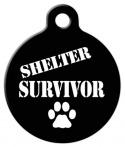 image: Shelter Survivor Cat or Dog ID Tag