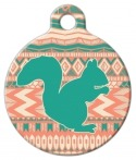 image: Squirrel Hunt Tribal Designer ID Tag