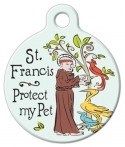 imag: St. Francis Protection Medal Tag for Pets