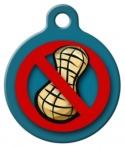 image: Peanut Allergy Custom ID Tag
