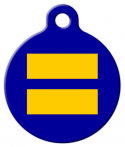 image: Equality Custom Pet Tag