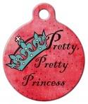 image: Pretty Pretty Princess Pet ID Tag