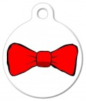 image: Bow Tie Dog ID Tag