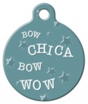 image: Bow Chica Bow Wow! Dog Tag