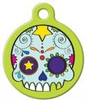 image: Dia de los Muertos Pet ID Tag