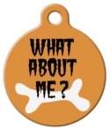 Image: What About Me Halloween Dog Tag