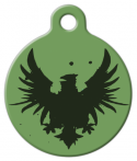 image: Rock Eagle Green Dog ID Tag