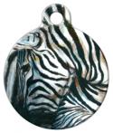 image: Zebra Pet Identity Tag