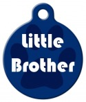 image: Little Brother Custom Dog Tag