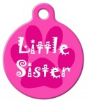 image: Little Sister Pet Identity Tag