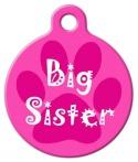 image: Big Sister Pet ID Tag