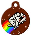 image: Mummy Nyan Cat Custom ID Tag