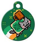 image: St. Patrick's Nyan Cat Custom Tag